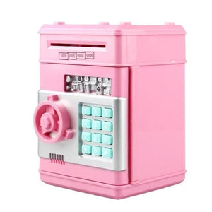 PIGGY BANK DEPOSIT BOX - CASH & COINS SAVINGS - ZUNARIS