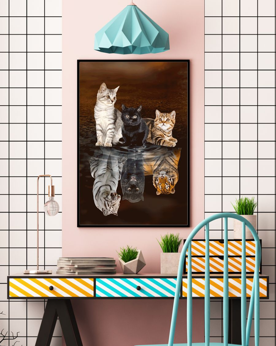 Cats Believe Poster - ZUNARIS