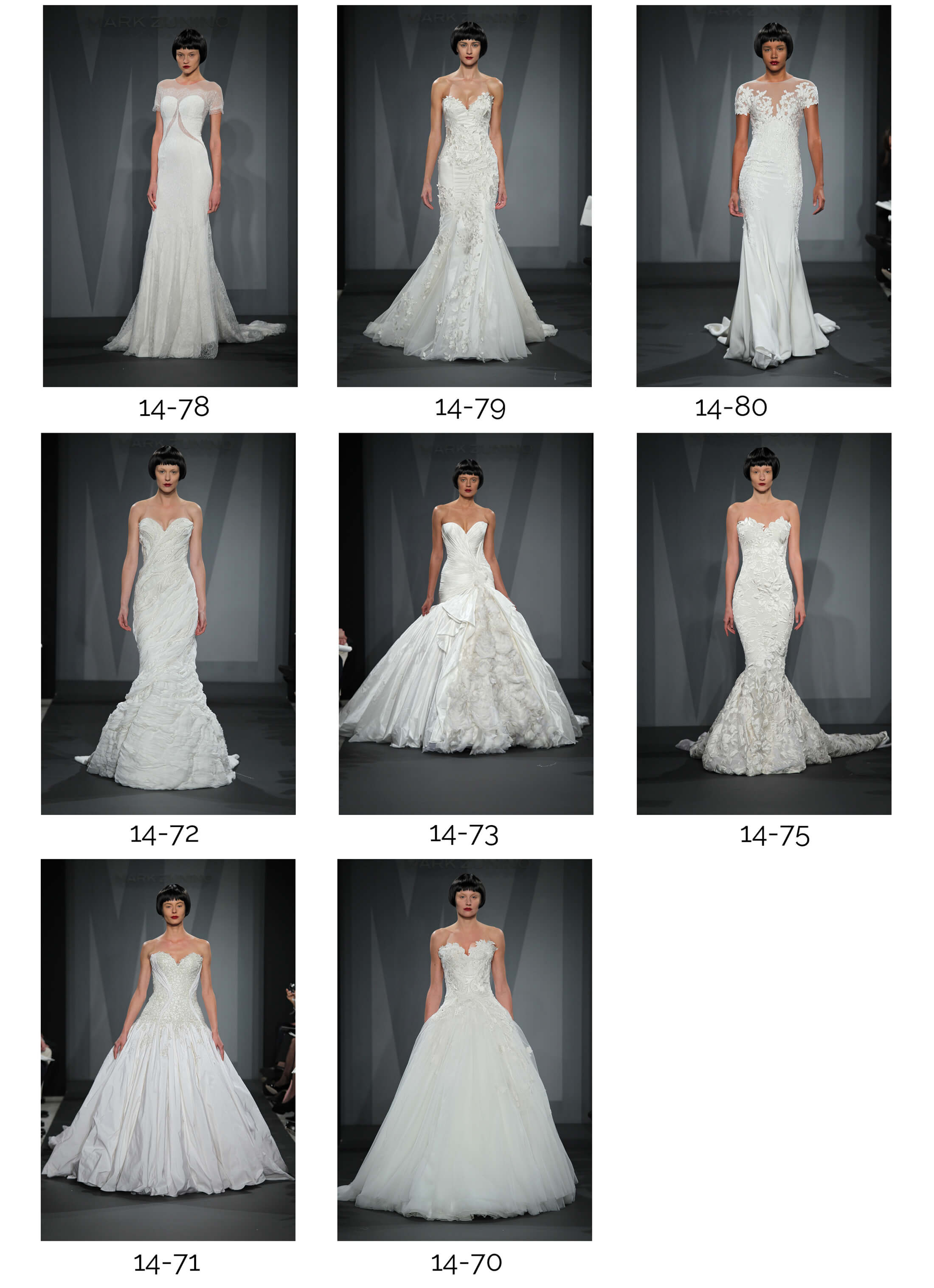 Mark Zunino Bridal 2014
