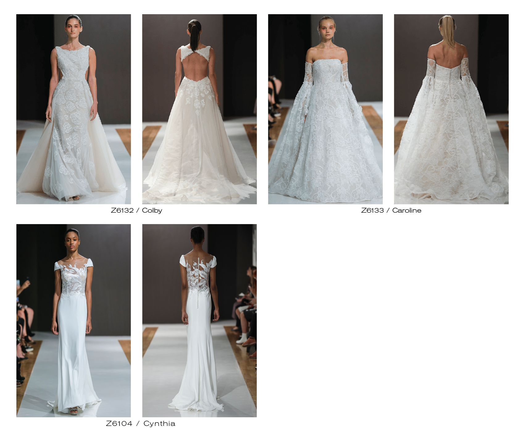 Mark Zunino Bridal Collection 2018
