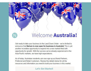 The incredible opportunity to start a business the first to in Australia!