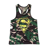 Singlets Camouflage Tank Tops Shirt Bodybuilding Equipment Fitness Men's Golds Gym Stringer WAIBO BEAR - GKandAa - 3