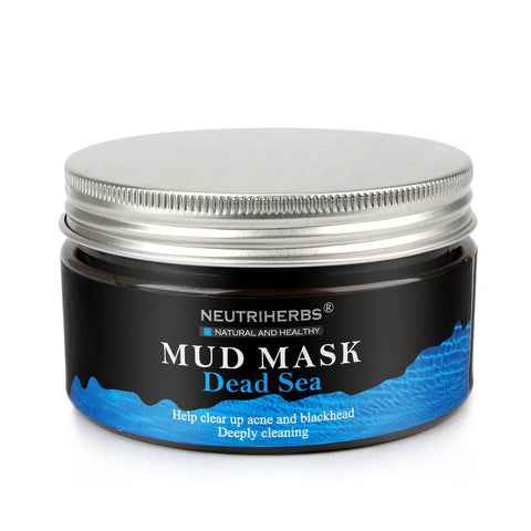 Black mud Dead sea Deep skin mask Cleans the skin and Instantly-GKandaa.net