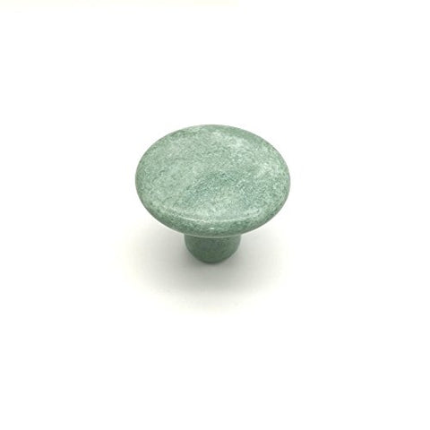 Gotfaster Mushroom Shaped Massage Stones Natural Xiuyan Jade Stone Hot Rock for Spa Massage-GKandaa.net