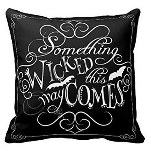 Halloween Throw Pillow  45*45CM Something Wicked-GKandaa.net