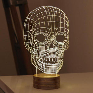 USB LED  Laser Cut Desk Lamp   Night Light Optical 3D-GKandaa.net
