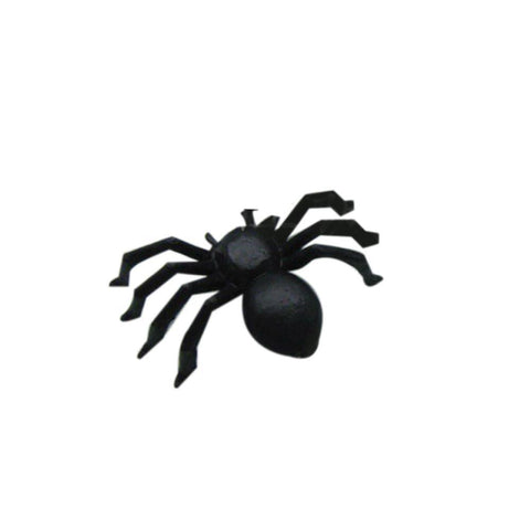 Halloween Spider Decorations 20 PC Halloween Plastic Black Spider Decoration Realistic-GKandaa.net