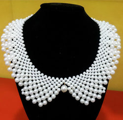 40cm womens beads collars 2015 fashion woman collar necklace statement pendant vintage jewelry flower False collars - GKandAa