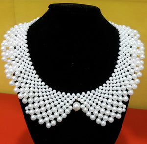 Vintage Beaded Collar 40cm fashion pendants jewelry Lace-GKandaa.net
