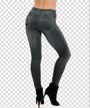 Women's Jeans Blue gray pants z001-GKandaa.net