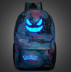 Backpacks Bags Galaxy luminous School-GKandaa.net