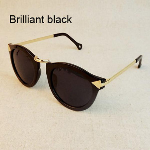 Vintage Trend Sunglasses For Women Men Round Retro Sun Glasses Sports Oculos De Sol - GKandAa - 2