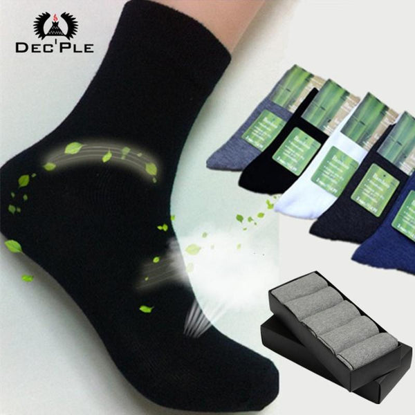 Men's Socks 5pairs sport striped 40-45 size-GKandaa.net