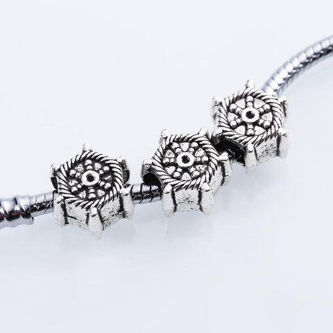Charm Bracelets Beads Tibetan Silver Nautical Rudder Diy 30pcs/lot 89-GKandaa.net
