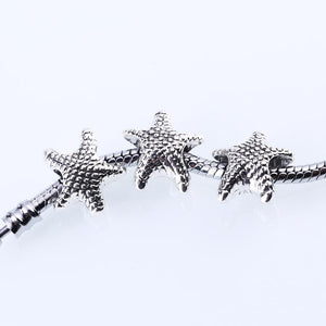 Charm Bracelets Beads Vintage Starfish Animal Starfish for 30pcs/lot-GKandaa.net