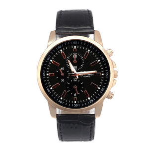 Men's Watches Luxury Geneva Leather Analog Quartz Sport Casual-GKandaa.net