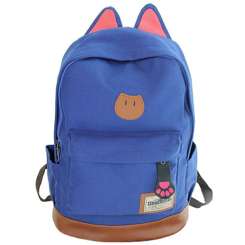 Backpacks Bags Campus Cat Ear School-GKandaa.net