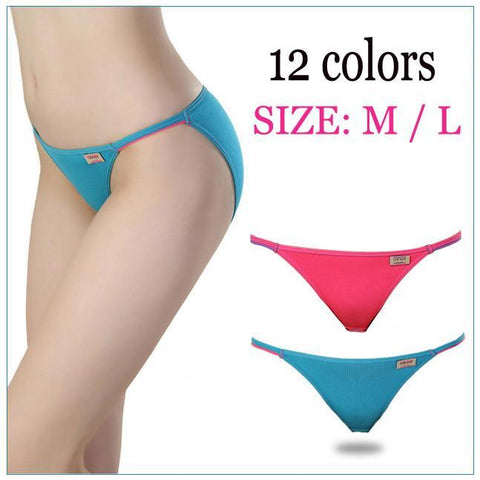 Women's Panties T- Modal Super Low 12 color-GKandaa.net