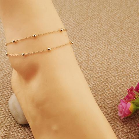 Women's Anklets Bracelet Bead For Ankle-GKandaa.net