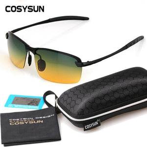 Men's Sunglasses Day Night Visio s car Alloy Frame-GKandaa.net