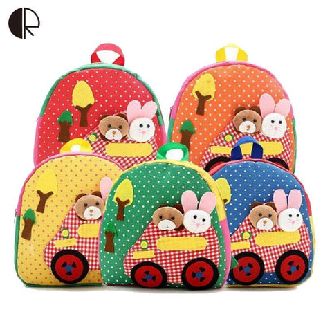 Backpack Cute School Applique Toddler Rucksack BP102-GKandaa.net