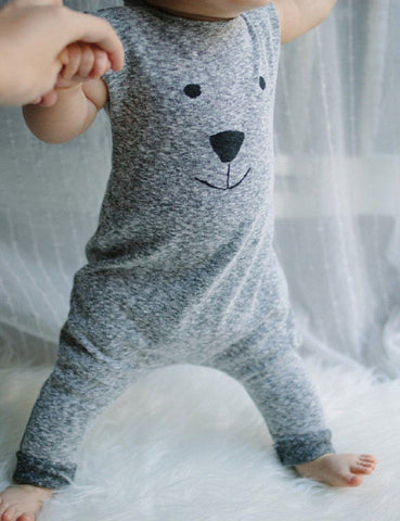 Bodysuits winter Toddler Bear Jumpers Play babies 0-24M-GKandaa.net
