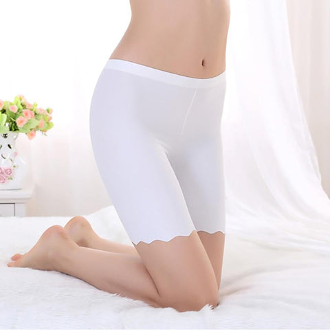 Women's Panties Seamless Short Smooth silky Great Elasticity Tights-GKandaa.net