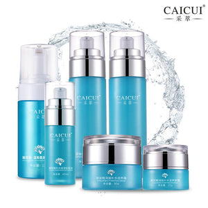 6pcs/lot  Hyaluronic Acid Serum  Set Series Cleansing Foam Hydrating-GKandaa.net