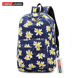 Backpacks Softback Canvas Floralanzellina.myshopify.com