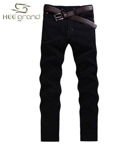 Men's Jeans Without Belt Casual Straight pants Lightweight-GKandaa.net