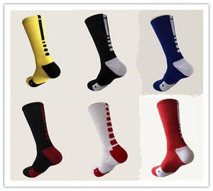 Men's Socks solid High Elastic high quality cotton-GKandaa.net