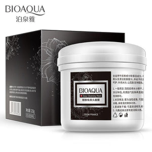 Blackhead Removal Face Mask  for Acne Deep Cleansing Mud Black-GKandaa.net