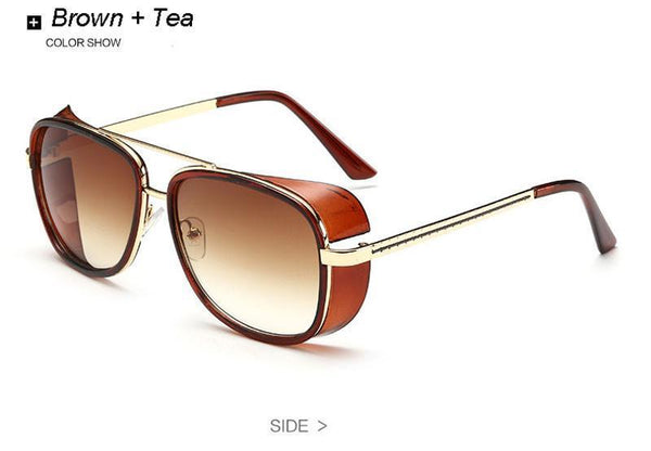 Women's Sunglasses 3 Square Pu glass-GKandaa.net