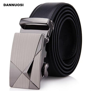 Men's Belts 100 percent leather automatic leisure business-GKandaa.net