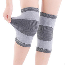 Knee Sleeve 1 Pair Elastic Breathable Knee Brace Strap Patella Guard Support