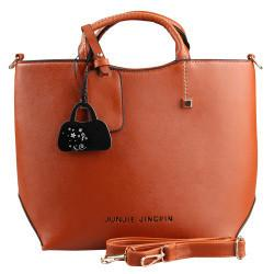 Shoulder Bags vintage Tote PU Leather College Handbags-GKandaa.net