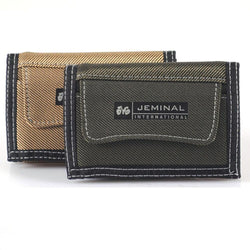 1pc Canvas Men Wallets With Coin Zipper Short Money Bag Pocket For Credit Card Boys Student 3 Fold Purse New -- BID036 PM49 - GKandAa - 1