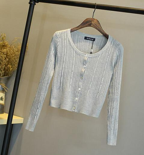 Women's Cardigans sweater Slim waist-GKandaa.net