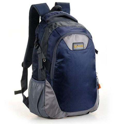 Backpack Bag Nylon Travel Bag Dark Blue for Women Men NEW-GKandaa.net