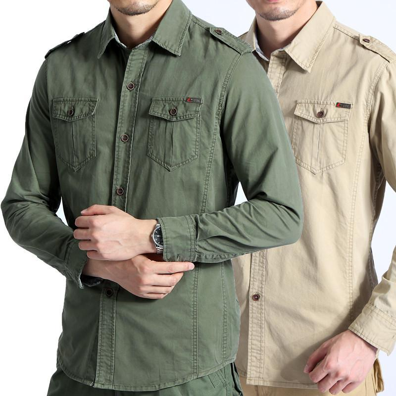 Military Style Shirts
