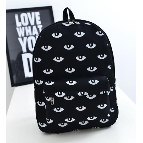 Backpacks Canvas Teenagers Casual Student Soft HHandbagsle-GKandaa.net