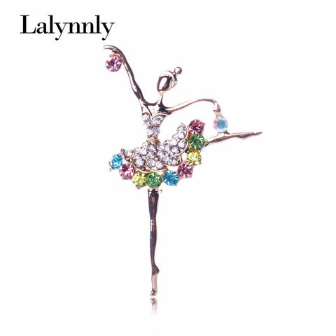 Brooches Ballet Girl Full Colourful Cute-GKandaa.net