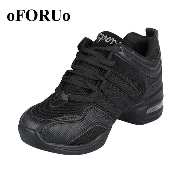 New Dance Shoes For Girls Sports Soft Outsole Breath women Practice Shoes Modern Jazz Dance Shoes Sneakers Plus size 41 42 - GKandAa - 1