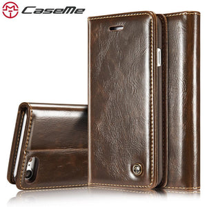 Wallet Case Leather Flip Stand For iPhone 6 6s Plus 7 7 Plus For - Gkandaa.net