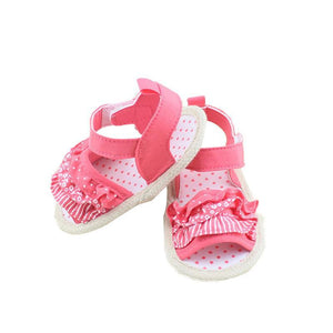 Baby Shoes Toddler Girl Sals Summer Soft Sole Sals 0-18M-GKandaa.net
