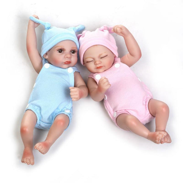 Silicone Baby Dolls  100% Into Water Full Silicone 28cm - GKandaa.net