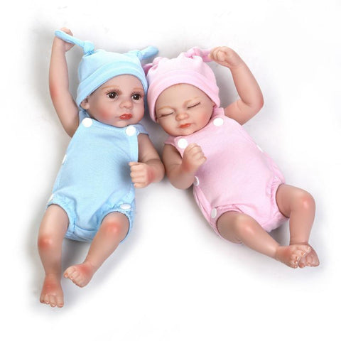 Silicone Baby Dolls  100% Into Water Full Silicone 28cm-GKandaa.net