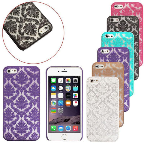 Case Cover for iPhone mobile 5S vintage Matte Brushed Crust plastic-GKandaa.net