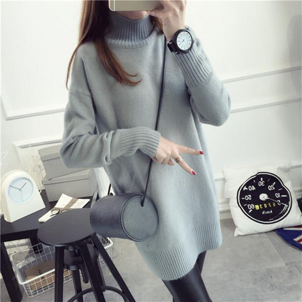 Women's Pullovers spring long Sleeve sweater-GKandaa.net