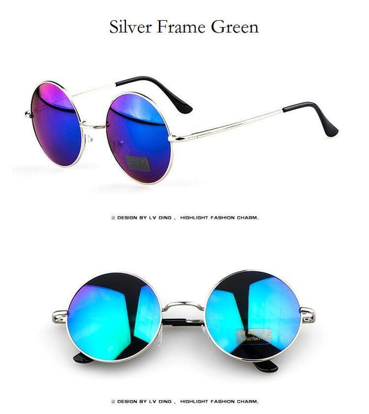 Women's Sunglasses Vintage Retro Metal-GKandaa.net